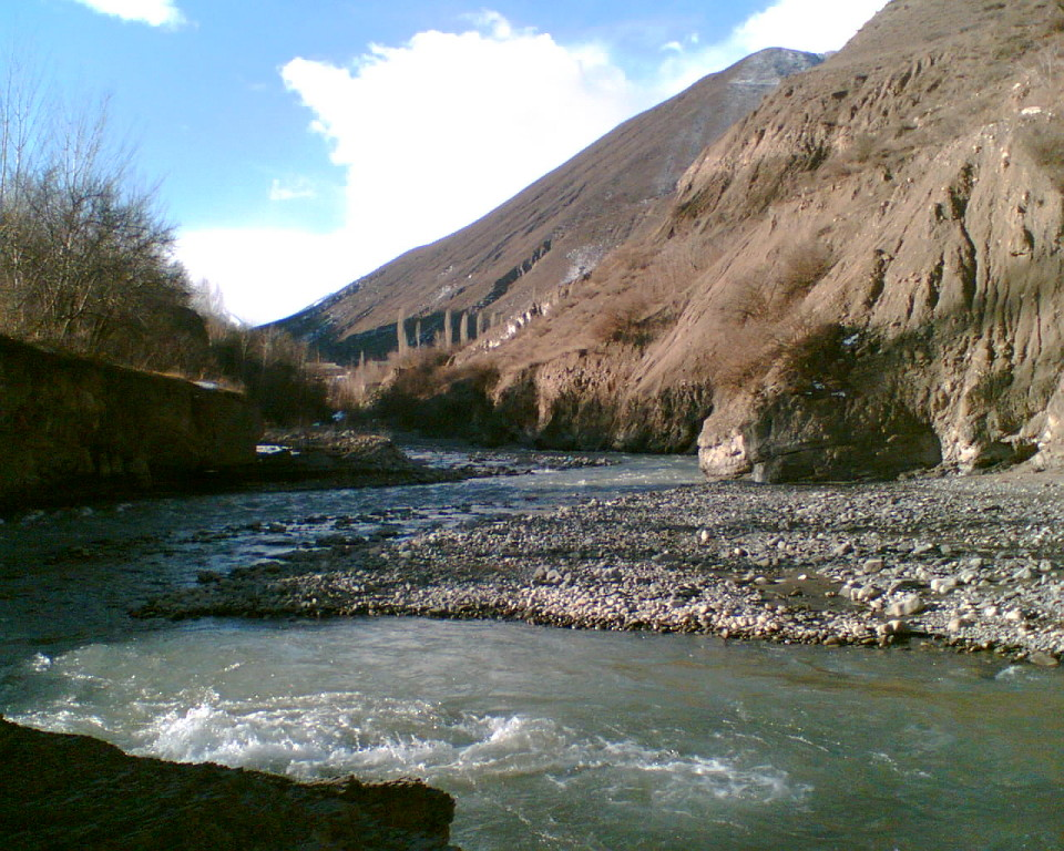 Река Ахты-чай